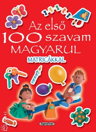 - Az első 100 szavam magyarul - piros