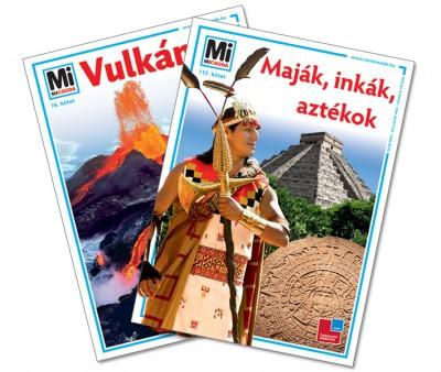 Bencze Mariann  (Szerk.) - Lévai Júlia  (Szerk.) - Vulkánok + Maják, inkák, aztékok