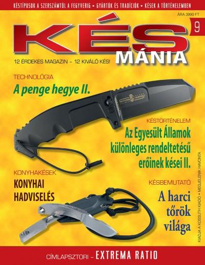 Nádori Attila  (Szerk.) - Késmánia 9. - Taktikai kés üvegtörővel
