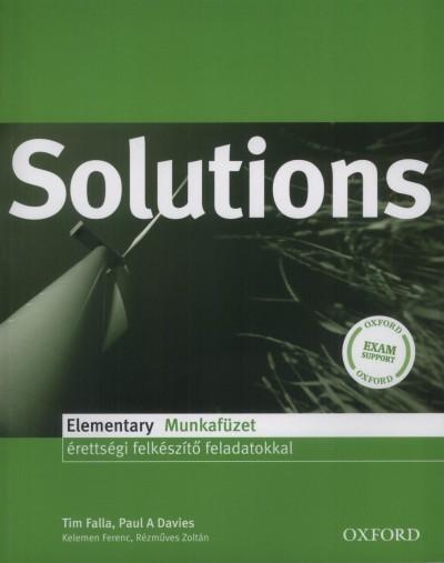 Paul A. Davies - Tim Falla - Solutions Elementary Munkafüzet