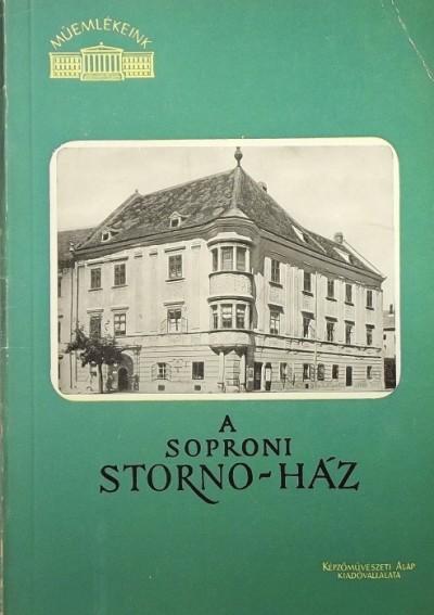 - A soproni Stornó-ház