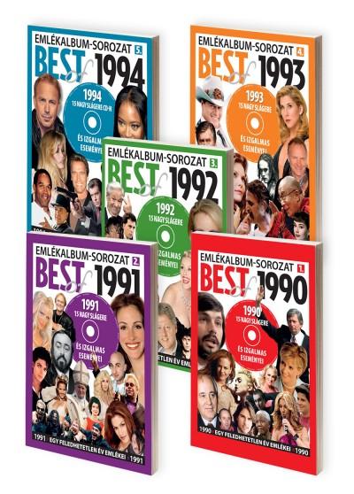 Csarnai Edit  (Szerk.) - Ónodi Ferenc  (Szerk.) - Sebők László  (Szerk.) - Emlékalbum-sorozat - Best of 1990-1994