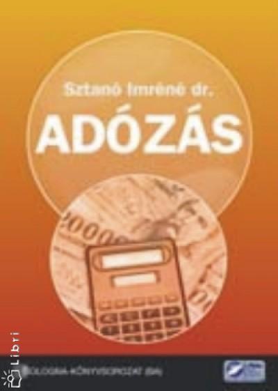 Sztanó Imréné - Adózás