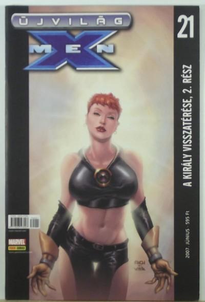 - Újvilág: X-Men 21. - A király visszatérése, 2. rész