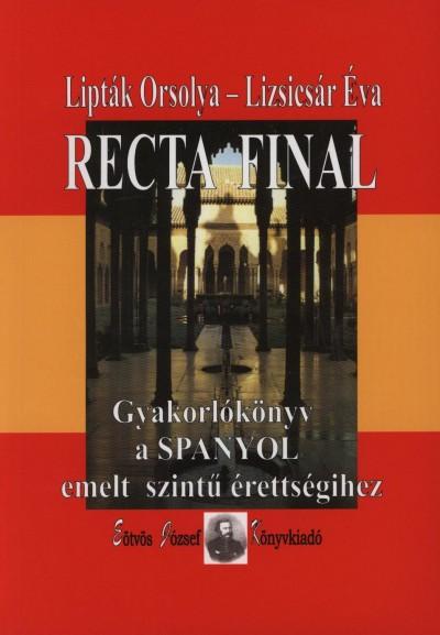 Lipták Orsolya - Lizsicsár Éva - Recta Final