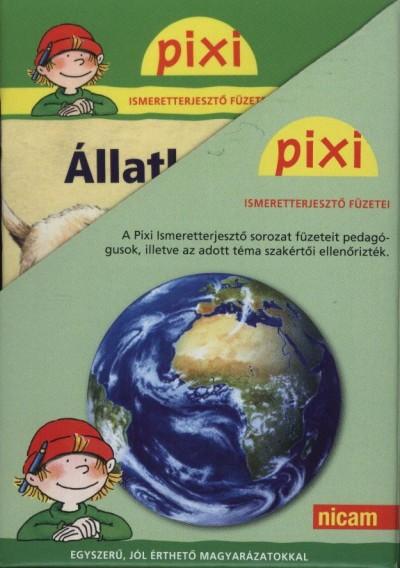 - Pixi ismeretterjesztő füzetei