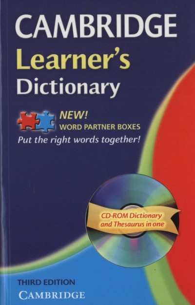 Kate Woodford  (Szerk.) - Cambridge Learner's Dictionary - Third edition + CD-ROM