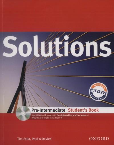 Paul A. Davies - Tim Falla - Solutions Pre-Intermediate Student's Book