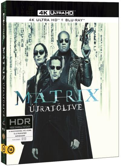 Lilly Wachowski - Lana Wachowski - Mátrix - Újratöltve - 4K UHD+Blu-ray