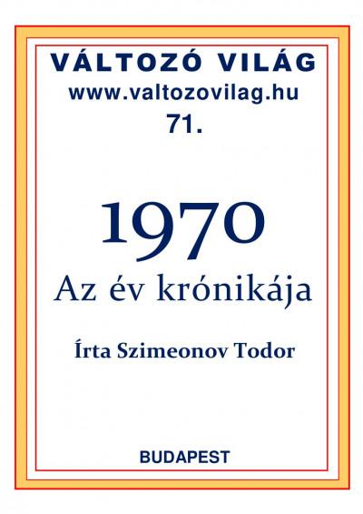 Dr. Szimeonov Todor - 1970