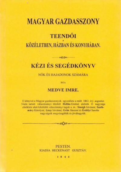 Medve Imre - Magyar gazdasszony