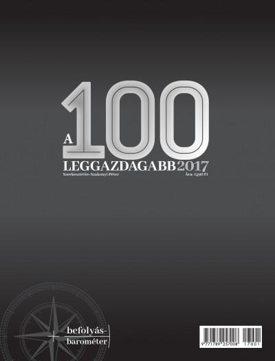Domokos László  (Szerk.) - Szakonyi Péter  (Szerk.) - A 100 leggazdagabb 2017
