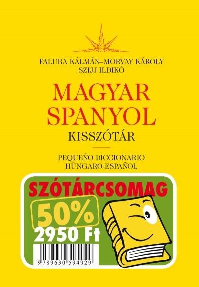 Faluba Kálmán  (Szerk.) - Morvay Károly  (Szerk.) - Szijj Ildikó  (Szerk.) - Spanyol-magyar-spanyol kisszótár csomagban