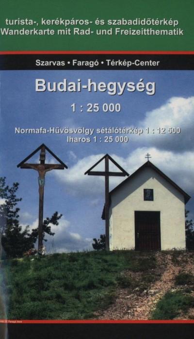 Faragó Imre  (Szerk.) - Budai-hegység - 1:25 000