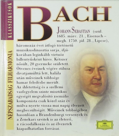 - Johann Sebastian Bach (1685-1750) + CD