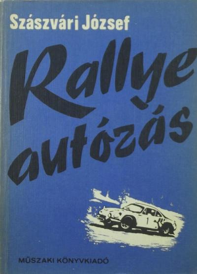 Szászvári József - Rallye autózás