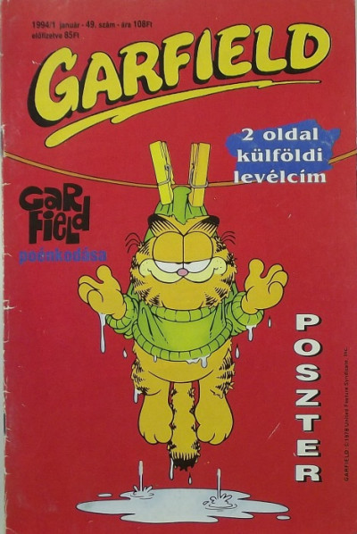 Jim Davis - Garfield 1994/1 49. szám