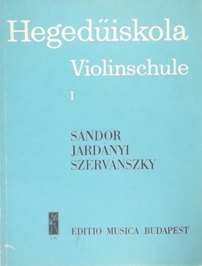 Járdányi Pál - Sándor Frigyes - Szervánszky Endre - Hegedűsikola I.