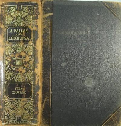 - A Pallas nagy lexikona XVI. kötet