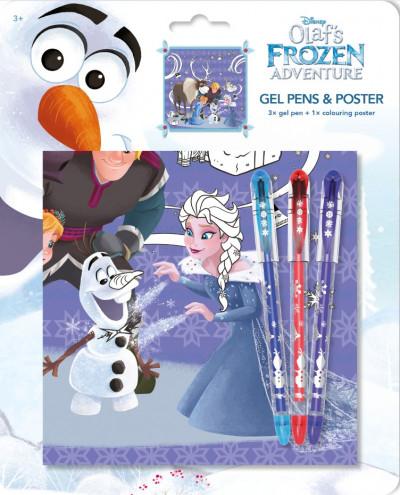 - Olaf - Zselés tollak poszterrel