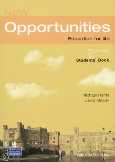 Michael Harris - David Mower - New Opportunities - Beginner Student's Book