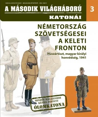 Tóth Emese  (Szerk.) - Németország szövetségesei a keleti fronton - Huszártiszt, Magyar Királyi Honvédség, 1941