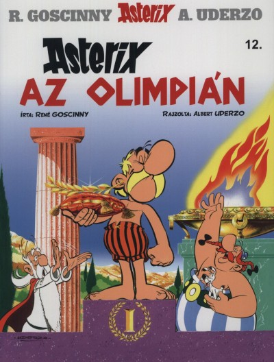 René Goscinny - ASTERIX 12. - ASTERIX AZ OLIMPIÁN
