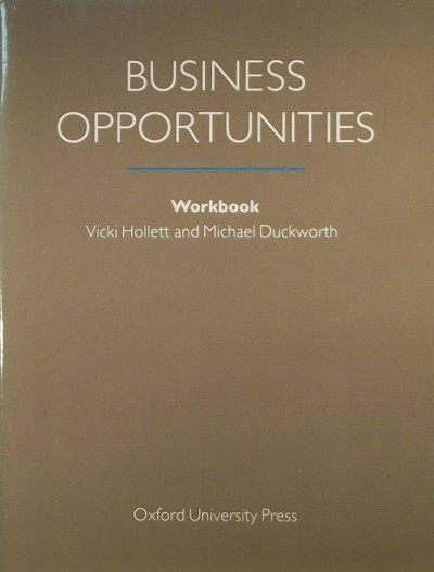 - Business Opportunities Workbook