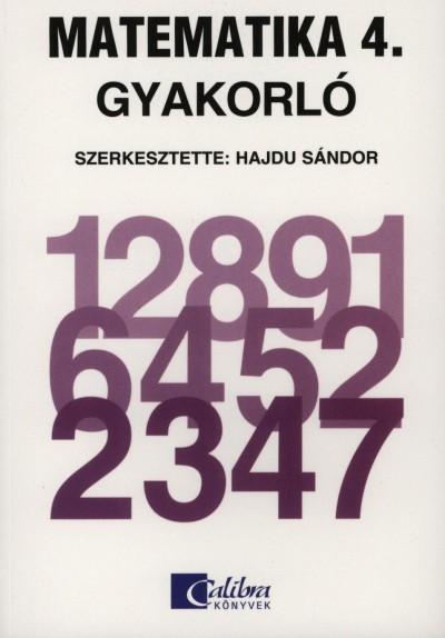 Czakó Anita - Novák Lászlóné - Scherlein Márta - Dr. Hajdu Sándor  (Szerk.) - Matematika 4. Gyakorló