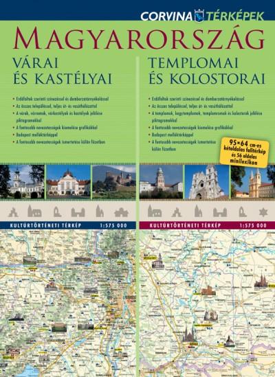 - Magyarország várai és kastélyai - Magyarország templomai és kolostorai  (duótérkép)