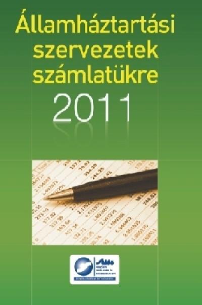 Lilliné Fecz Ildikó - Államháztartási szervezetek számlatükre 2011