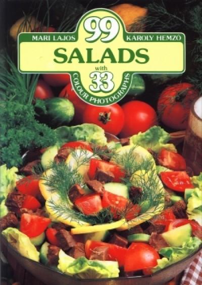 Hemző Károly - Lajos Mari - 99 salads with 33 colour photographs