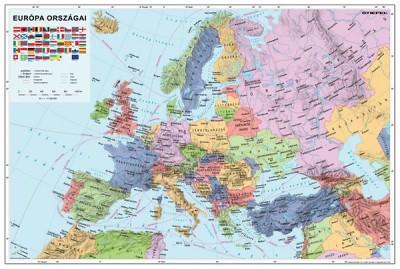 - Európa államai /országai/
