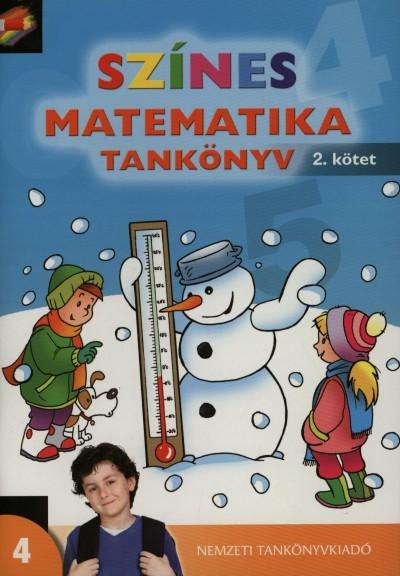 Nagy-Baló András - Színes matematika tankönyv 4. osztály 2. kötet