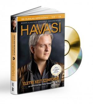 Havasi Bal�zs - Havasi: �letre kelt szimf�nia (k�nyv+CD/DVD)