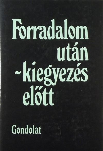 Németh G. Béla - Forradalom után - kiegyezés előtt