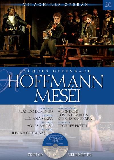 Alberto Canagueral - Jacques Offenbach - Susana Sieiro - Hoffmann meséi - Zenei CD melléklettel
