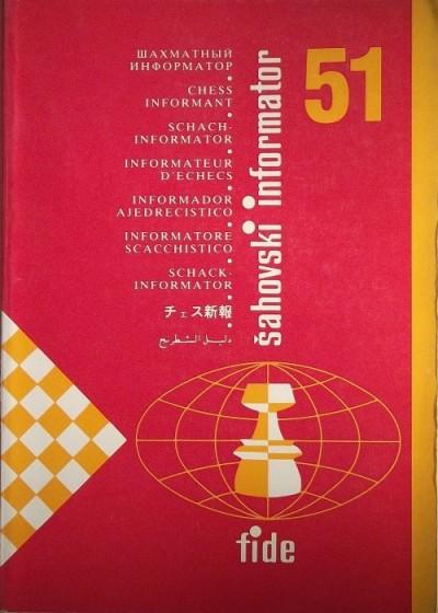 - Chess Informant 51.