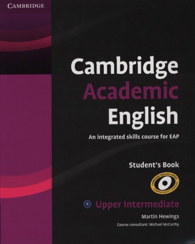 Martin Hewings - Cambridge Academic English Student's Book - Upper Intermediate - B2