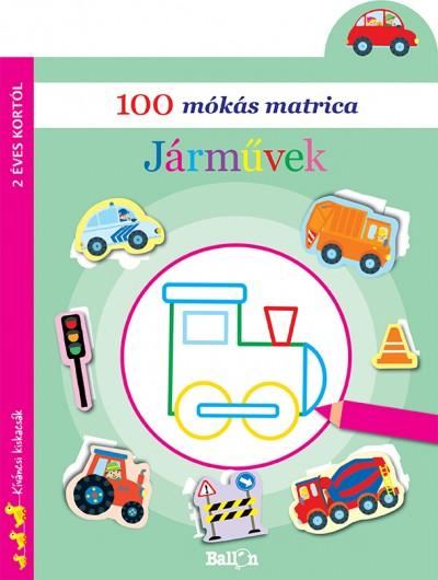 - 100 mókás matrica - Járművek