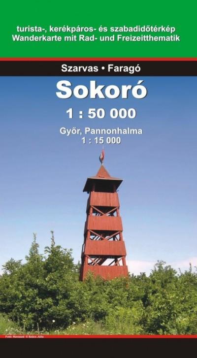 - Sokoró 1:50 000 - Győr, Pannonhalma 1:15 000