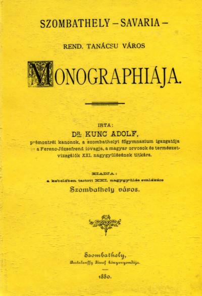 Kuncz Adolf - Szombathely-Savaria város