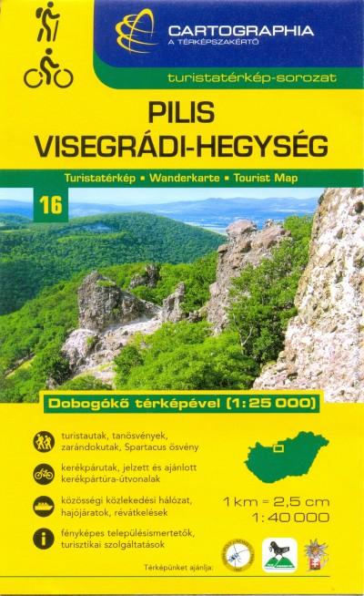 - Pilis, Visegrádi-hegység turistatérkép - 1:40000