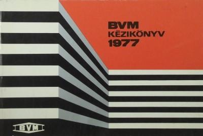 - BVM kézikönyv 1977