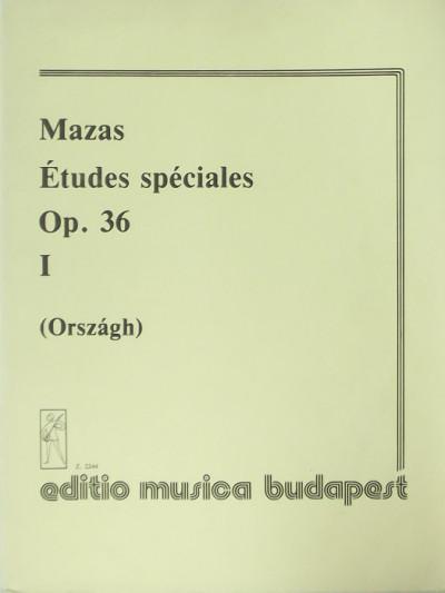 F. J. Mazas - Országh Tivadar  (Összeáll.) - Études spéciales I.
