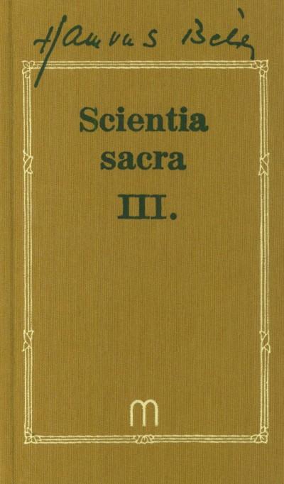 Hamvas Béla - Scientia Sacra III.