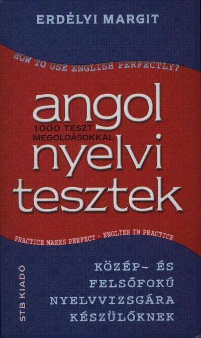 Erdélyi Margit - Angol nyelvi tesztek