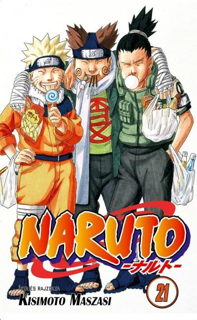 Kisimoto Maszasi - Naruto 21.