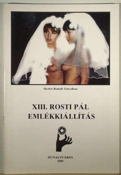 - XIII. Rosti Pál emlékkiállítás