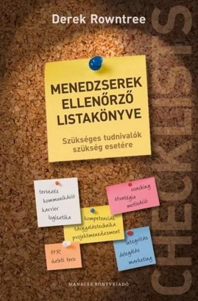 Derek Rowntree - Menedzserek ellenőrző listakönyve